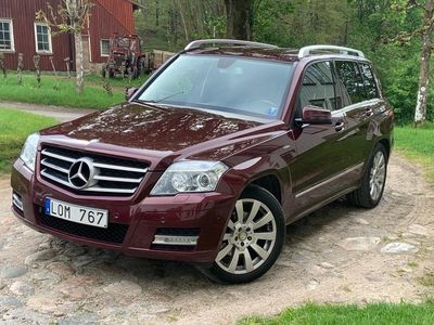 begagnad Mercedes GLK220 cdi 4wd
