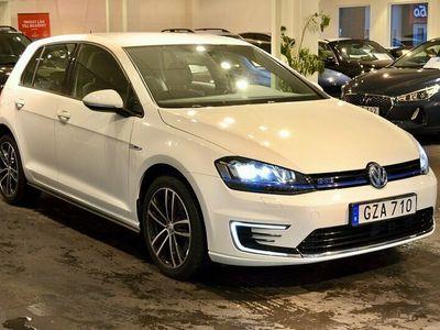 begagnad VW Golf GTE Plug-In Hybrid Aut 204hk