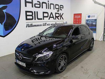 begagnad Mercedes A200 d 4M 4MATIC 7G-DCT AMG D-Värm Euro 6 136hk
