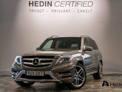 begagnad Mercedes GLK220 CDI 4MATIC // AMG & Bränslevärmare //
