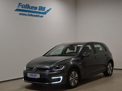 begagnad VW e-Golf Pluspkt / Navi / 35.8 kWh