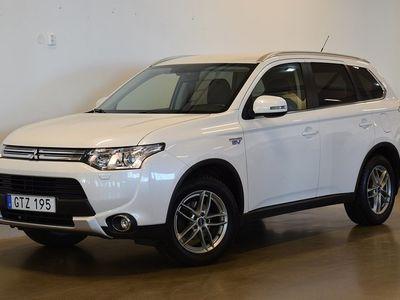 brugt Mitsubishi Outlander P-HEV Hybrid 4WD Business Nav Summit