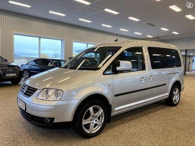 begagnad VW Caddy Maxi Life 1.9 TDI DSG 5-sits 105hk