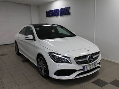 brugt Mercedes CLA200 d Coupe AMG Panorama -18
