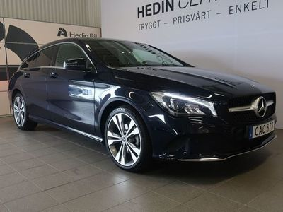 begagnad Mercedes CLA220 Shooting Brake 220 D 4Matic Värmare Drag