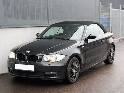begagnad BMW 120 d Convertible Advantage, Comfort 177hk