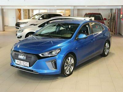 begagnad Hyundai Ioniq Hybrid PremiumPlus Aut Läder Navigation 2017, Sedan Pris 174 800 kr