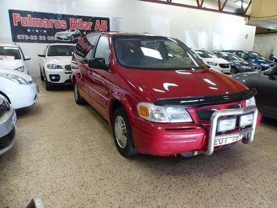 begagnad Chevrolet Trans Sport 3.4 V6 Hydra-Matic 7-sits Ny Besiktigad 182hk