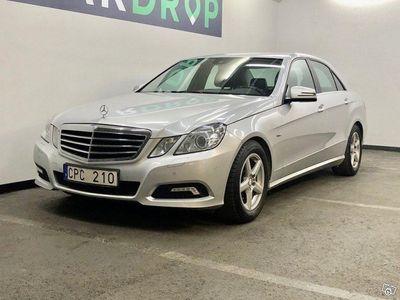 begagnad Mercedes E250 BlueEFFICIENCY 5G-Tronic -10