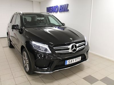 begagnad Mercedes GLE350 d 4-Matic AMG Panorama