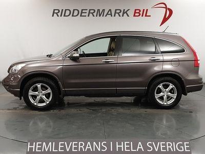 begagnad Honda CR-V 2.2 i-DTEC 4WD Skinn Navi Pano Nyservad 150hk