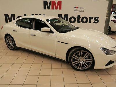 begagnad Maserati Ghibli Diesel Automat 275hk sv.såld