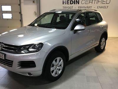 begagnad VW Touareg 3,0 TDI 4-M VÄRMARE DRAG