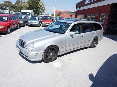 begagnad Mercedes E55 AMG AMG T Avantgarde Sv.Såld