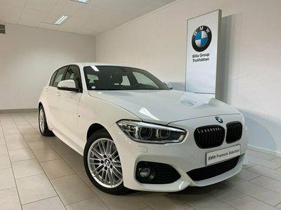 begagnad BMW 120 d xDrive 5D Aut M-Sport / 1800 mil / Rattvärme