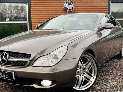 begagnad Mercedes 350 CLS BenzCGI 7G-TRONIC ToppSkick 2005, Sportkupé 119 900 kr