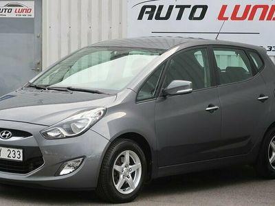 begagnad Hyundai ix20 1.4 CRDi 90hk Edition ACC 2Ägare NYSERVAD NYBES