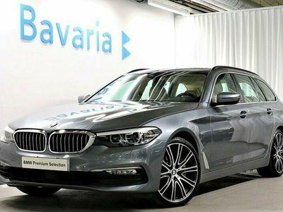 begagnad BMW 530 d xDrive Touring Värmare Elstolar Backkamera