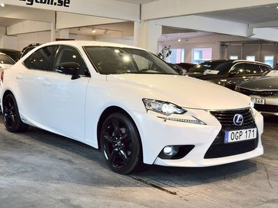 begagnad Lexus IS300h Special Edition Euro 6 223hk