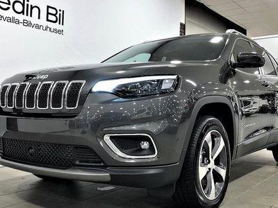 begagnad Jeep Cherokee LIMITED DIESEL AWD AUT Vinterhjul på köpet 2019, SUV 399 900 kr