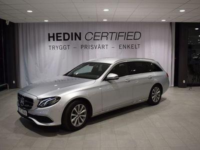 begagnad Mercedes E200 // P-värmare // Drag// Adaptiva Strålkastare