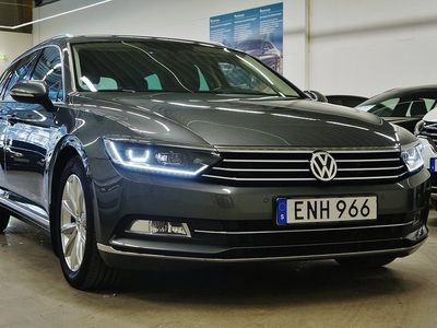 begagnad VW Passat TDI 4Motion Navi D-värmare Executive Drag 190hk