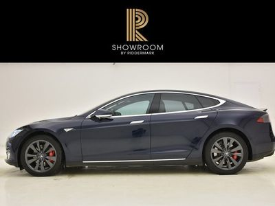 begagnad Tesla Model S P85D / Luftfjädring / 7-sit
