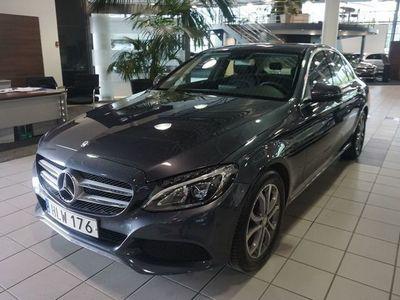 brugt Mercedes C220 220d sedan // Dragkrok