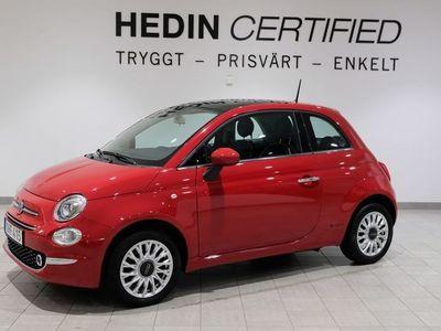 begagnad Fiat 500 1.2 Manuell och Nybesiktigad 2017, Halvkombi 89 900 kr