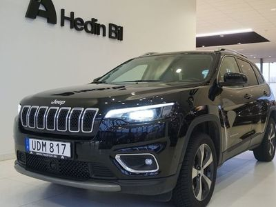 begagnad Jeep Cherokee LIMITED 2.2 DIESEL AWD 9AT 195HP E6D MY19