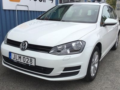 begagnad VW Golf VII 1.6 TDI BlueMotion Technology Sportscombi 4Motion (105hk)