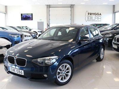 begagnad BMW 118 d xDrive 5-dörr lågmil 143hk