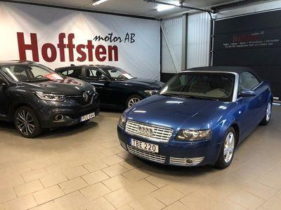 begagnad Audi A4 Cabriolet 2.4 V6 170hk