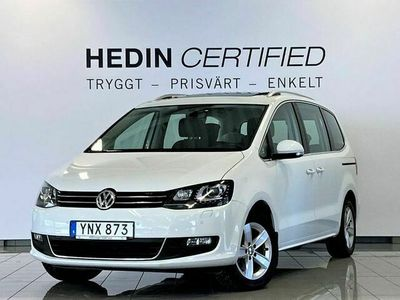 begagnad VW Sharan 2.0 TDI 7 - Sits Premium Panorama Apple Carplay