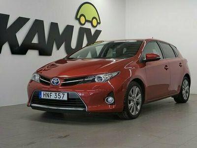 begagnad Toyota Auris 1.8 VVT-I Hybrid VVT-I Edition 50 Comfort 2014, Halvkombi Pris 129 800 kr