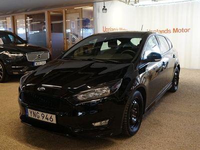 begagnad Ford Focus 1.0 125 ST-Line 5-d 2017, Halvkombi 144 000 kr