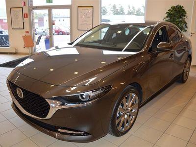 begagnad Mazda 3 Sedan A6 2.0 Sky 180 hk + Tech pack
