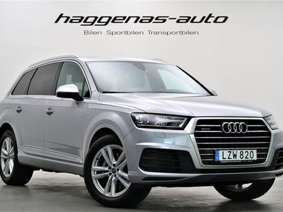 begagnad Audi Q7 3.0 TDI / 272hk / S-Line / MOMS