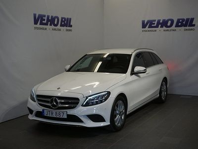 used Mercedes C200 T d 2.0 9G-Tronic Euro 6 150hk