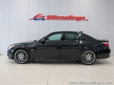 begagnad BMW M5 Sedan E60 V10 507hk Aut. Navi Skinn m.