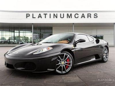 begagnad Ferrari F430 F1 V8 Nero Daytona / Navi / Keramiska 490hk