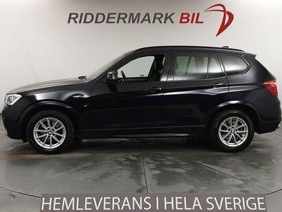 begagnad BMW X3 xDrive20d, F25 (190hk) M Sport