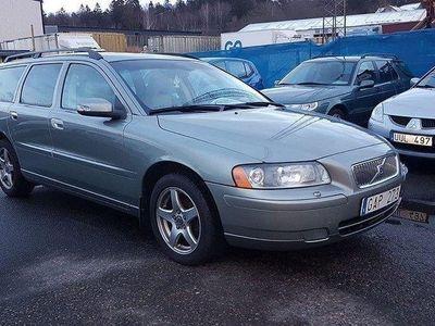 begagnad Volvo V70 2,4 Glassic.