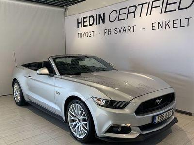 begagnad Ford Mustang GT Convertible 5.0 V8 //Navigation//GPS//Backkamera//