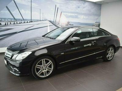 begagnad Mercedes E350 Coupé CGI BE 7-G TRONI
