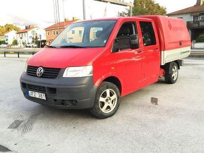 used VW Transporter T5 2.5 TDI Pickup 4-motion (130hk)