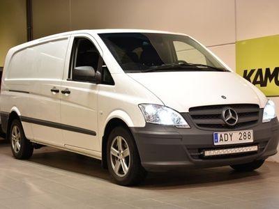 begagnad Mercedes Vito 116 CDI Lång 163hk Drag Navi D-Värm