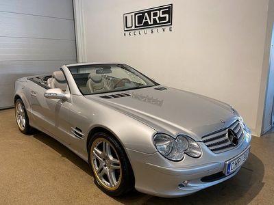 begagnad Mercedes SL500 306hk / Plåtcab