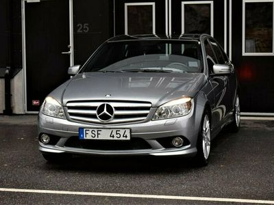 begagnad Mercedes C220 CDI BE BlueEFFICIENCY AMG 170hk I Panorama