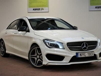 begagnad Mercedes CLA220   AMG   Paddlar   Apple C/P   M&K-värm   S&V-hjul